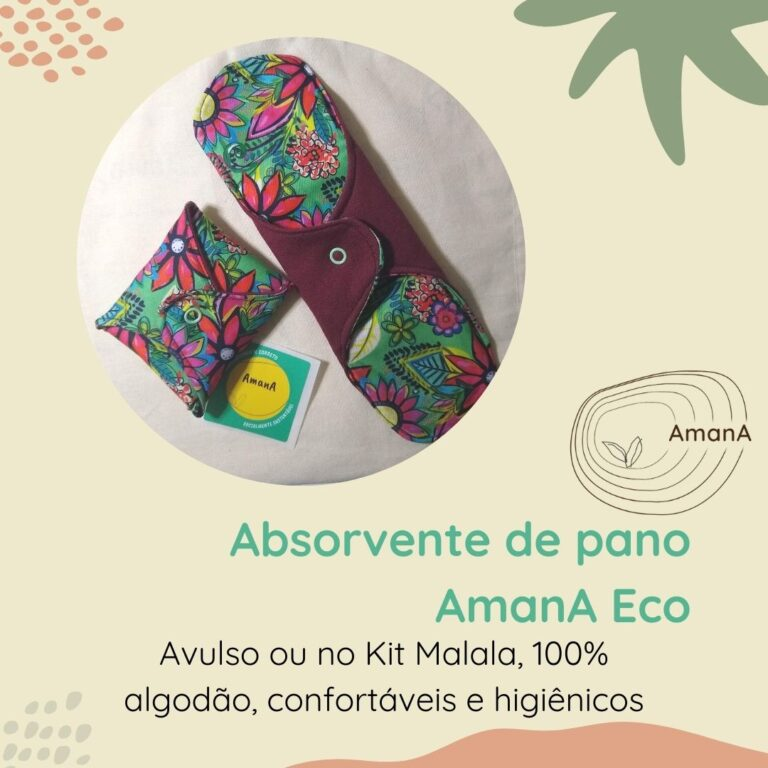 Absorvente de pano AmanA Eco